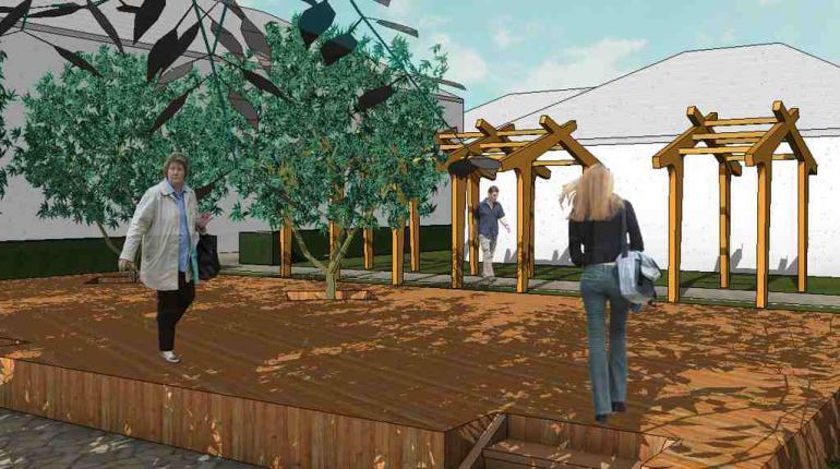 Общественный сад